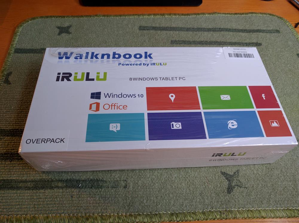 iRULU Walknbook 8