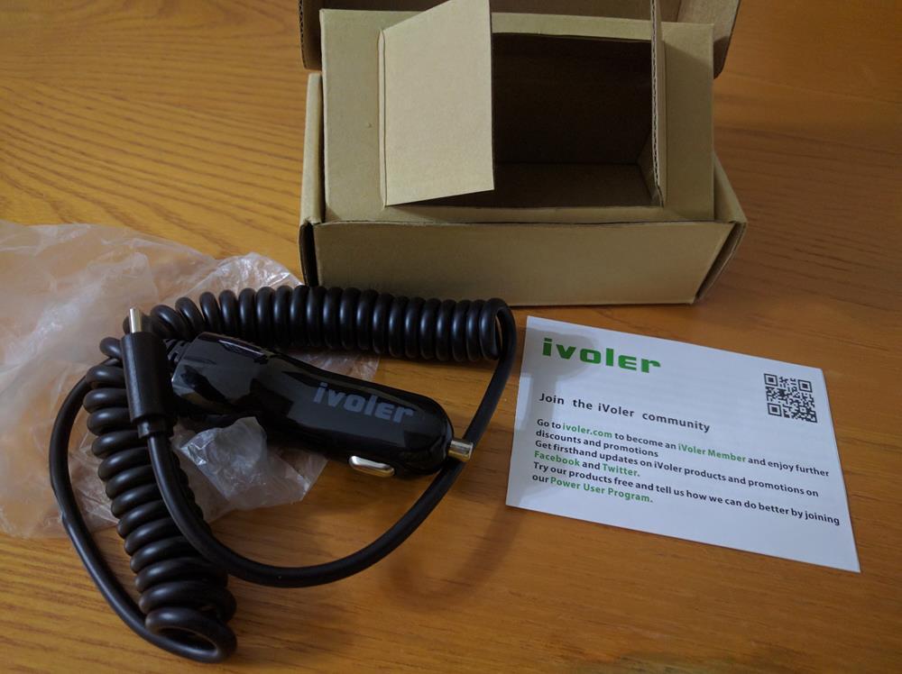USB Type C Cargador de Coche, iVoler (4)